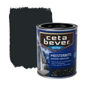 CetaBever meesterbeits dekkend zwartgrijs zijdeglans 750 ml