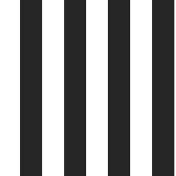 Vliesbehang Strepen zwart-wit 100099