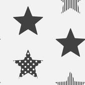 Vliesbehang 100110 superstar black