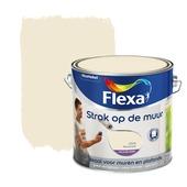 Flexa Strak op de Muur roomwit mat 2,5 liter
