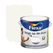 Flexa Strak op de Muur wit mat 2,5 liter