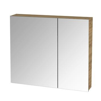 S-line spiegelkast 80 chalet eik