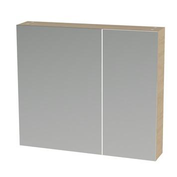 S-line spiegelkast 80 naturel eik