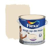 Flexa Strak op de Muur zandbeige mat 2,5 liter