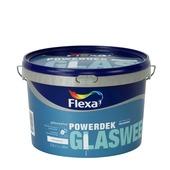 Flexa Powerdek latex glasweefsel stralend wit mat 2,5 liter