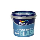 Flexa Powerdek latex glasweefsel stralend wit mat 5 liter