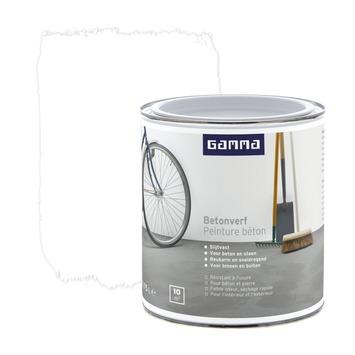 Bekend GAMMA | GAMMA betonverf wit 750 ml kopen? | vloerverf-vloercoating QU68