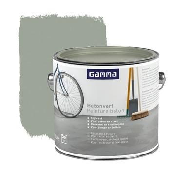 GAMMA betonverf grijs 2,5 liter