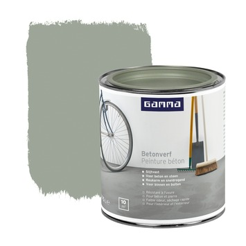 Populair GAMMA | GAMMA betonverf grijs 750 ml kopen? | vloerverf-vloercoating GI78