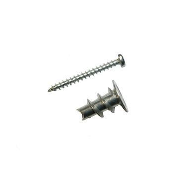 GAMMA gipsplaatplug metaal mini met schroef verzinkt 6 stuks