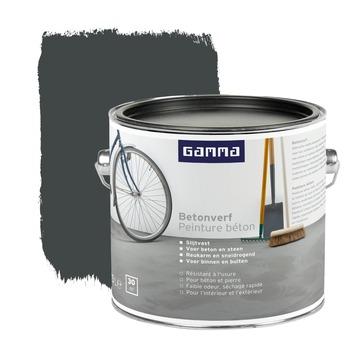 Voorkeur GAMMA | GAMMA betonverf antraciet 2,5 liter kopen? | balkonvloer RY57