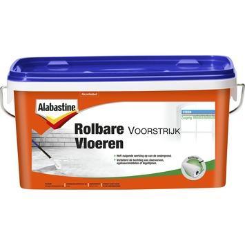 Alabastine Rolbare voorstrijk vloeren wit 2,5 l
