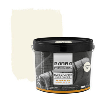 GAMMA Professional superlatex RAL 9001 crème wit 10 liter