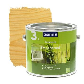 GAMMA tuinbeits transparant kleurloos 2,5 liter