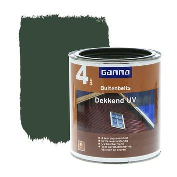 GAMMA buitenbeits dekkend UV jachtgroen 750 ml