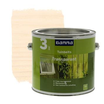 GAMMA tuinbeits transparant whitewash 2,5 liter