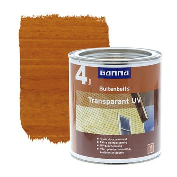 GAMMA buitenbeits transparant UV licht eiken 750 ml