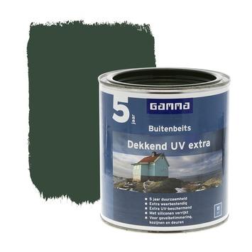 GAMMA buitenbeits dekkend UV extra jachtgroen 750 ml