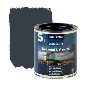 GAMMA buitenbeits dekkend UV extra gelders blauw 750 ml