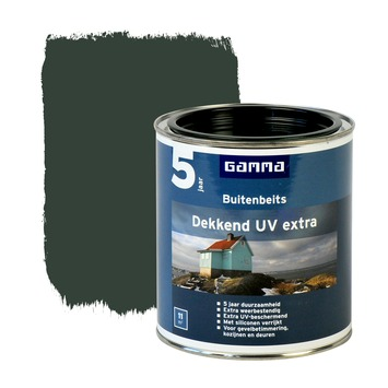 GAMMA buitenbeits dekkend UV extra rijtuigengroen 750 ml