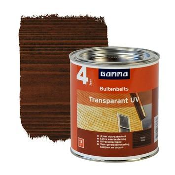 GAMMA buitenbeits transparant UV extra noten 750 ml