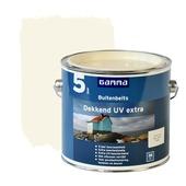 GAMMA buitenbeits dekkend UV extra crème wit 2,5 liter