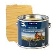 GAMMA buitenbeits transparant UV extra kleurloos 2,5 liter