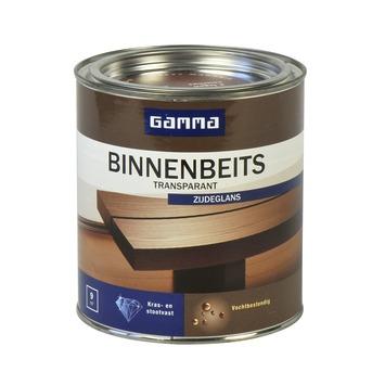 GAMMA binnenbeits transparant mahonie zijdeglans 750 ml