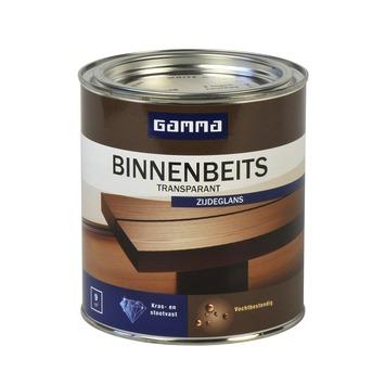 GAMMA binnenbeits transparant whitewash zijdeglans 750 ml