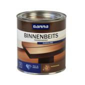 GAMMA binnenbeits transparant donker eiken zijdeglans 750 ml