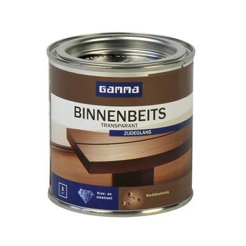 GAMMA binnenbeits transparant wenge zijdeglans 250 ml