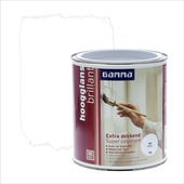 GAMMA Extra Dekkend lak wit hoogglans 750 ml