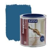 GAMMA Extra Dekkend lak helder blauw hoogglans 750 ml