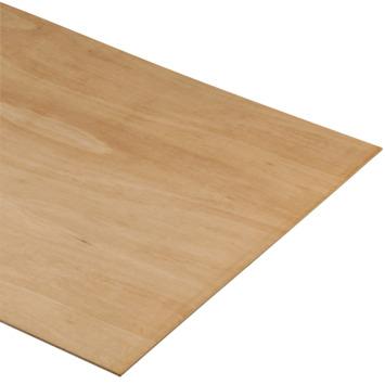 Multiplex Pure hardhout voor binnen 244x122cm 18 mm