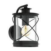 EGLO wandlamp Hilburn zwart