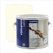 GAMMA Extra Dekkend lak roomwit zijdeglans 2,5 liter