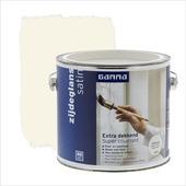 GAMMA Extra Dekkend lak RAL 9001 crème wit zijdeglans 2,5 liter