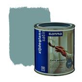 GAMMA Extra Dekkend lak zink grijs zijdeglans 750 ml