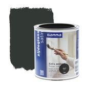 GAMMA Extra Dekkend lak zwart zijdeglans 750 ml