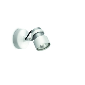 Philips opbouwspot Finish wit