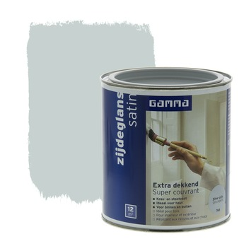 GAMMA Extra Dekkend lak zilver grijs zijdeglans 750 ml