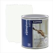 GAMMA Extra Dekkend lak platina wit zijdeglans 750 ml