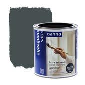 GAMMA Extra Dekkend lak antraciet grijs zijdeglans 750 ml