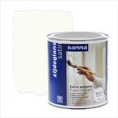 GAMMA Extra Dekkend lak RAL 9010 gebroken wit zijdeglans 750 ml