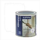 GAMMA Extra Dekkend lak wit zijdeglans 250 ml