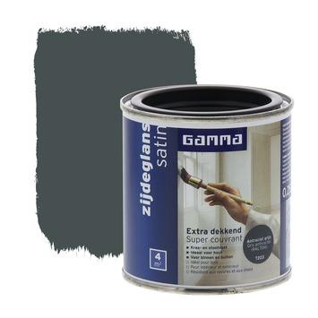 GAMMA Extra Dekkend lak antraciet grijs zijdeglans 250 ml