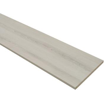 Meubelpaneel ABS 2-zijdig grijs eiken 240x40 cm 18 mm