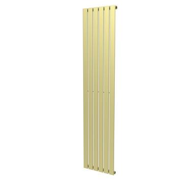 Haceka designradiator Negev goud structuur 858 Watt 184x41 cm