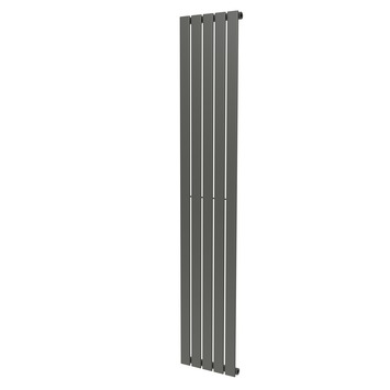 Haceka designradiator Negev grijs 715 Watt 184x34 cm
