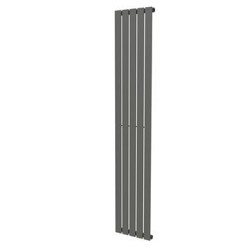 Haceka designradiator Negev grijs structuur 715 Watt 184x34 cm